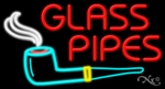 Glass Pipes Business Neon Sign