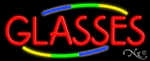 Glasses Business Neon Sign