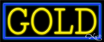 Gold Business Neon Sign