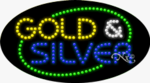 Gold & Silver LED Sign