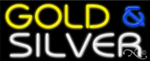 Gold & Silver Business Neon Sign