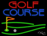Golf Course LED Sign