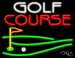 Golf Course Business Neon Sign