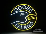 Goose Island Neon Sign