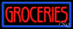 Groceries Business Neon Sign