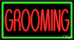 Grooming Business Neon Sign