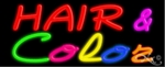 Hair Color Neon Sign