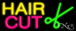 Hair Cut Economic Neon Sign