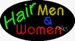 Hair Men & Women LED Sign