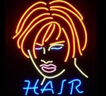 Hair Neon Sign
