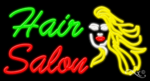 Hair Salon Business Neon Sign