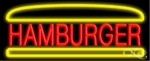 Hamburger Neon Sign