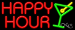Happy Hour Business Neon Sign