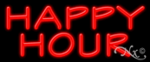 Happy Hour Economic Neon Sign