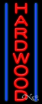 Hardwood Business Neon Sign