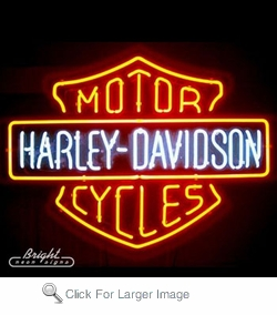 Harley Davidson Neon Sign Only 399 99 Signs H