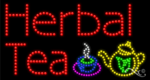 Herbal Tea LED Sign