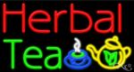 Herbal Tea Business Neon Sign