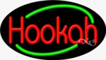 Hookah Oval Neon Sign