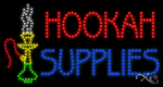 Hookah Supplies LED Sign
