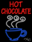 Hot Chocolate LED Sign