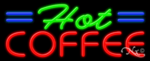 Hot Coffee Business Neon Sign