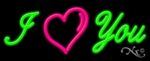 I Love You Business Neon Sign