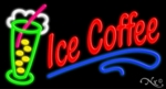 Ice Coffee Neon Sign