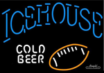 Icehouse Football Neon Sign