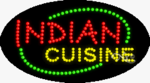 Indian Cuisine LED Sign