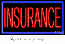 Insurance Business Neon Sign