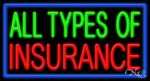 Insurance Neon Signs