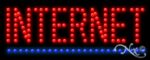 Internet LED Sign
