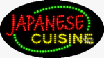Japanese Cuisine LED Sign