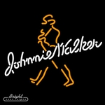 Johnnie Walker Whiskey Neon Sign