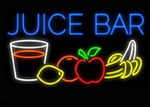 Juice Bar Neon Sign