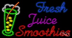 Juice & Smoothies LED Signs