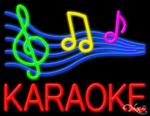 Karaoke Business Neon Sign