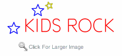 Kids Rock Neon Sign