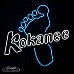 Kokanee Neon Beer Sign