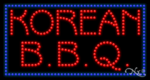 Korean BBQ LED Sign