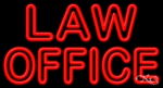 Law Office Business Neon Sign