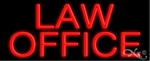 Law Office Neon Sign