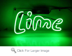 Lime Neon Sign