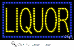 Liquor LED Sign