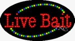 Live Bait LED Sign