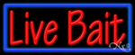 Live Bait Business Neon Sign