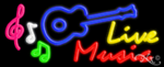 Live Music Business Neon Sign