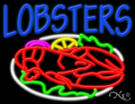 Lobsters Business Neon Sign