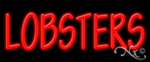 Lobsters Economic Neon Sign